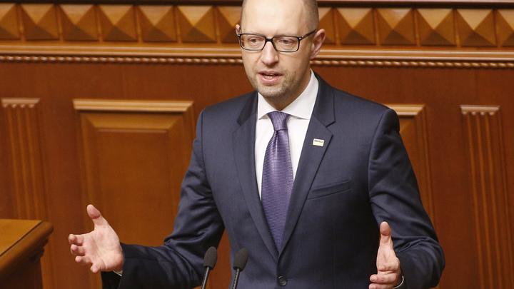 Яценюк мечтает засудить Россию в ЕСПЧ