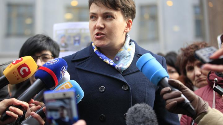 Савченко в прямом эфире сравнили с политическим кабанчиком, идущим на заклание