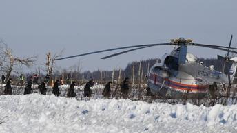 Поисковая операция на месте крушения Ан-148 завершается - МЧС