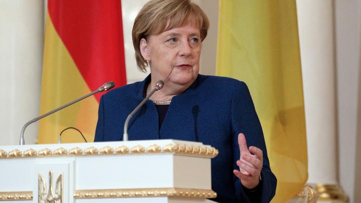 Меркель назвала позицию Украины по «Северному потоку - 2» слишком критичной