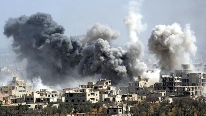 Израиль бьет по Сирии, прикрывшись атакой на террористов