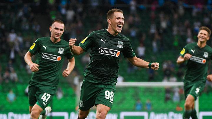 ФК «Краснодар» одержал победу над подмосковными «Химками»