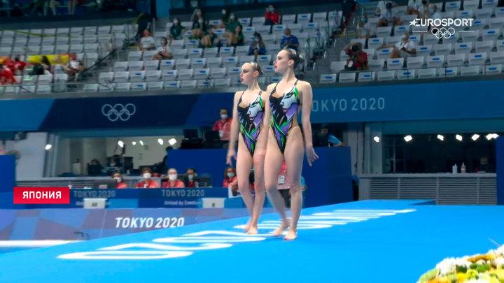Белорусские синхронистки в финале Олимпиады заняли 11-е место