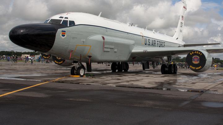 РФперехватила военный самолет США, который патрулировал территорию около аннексированного Крыма