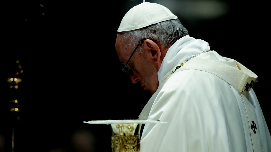 Папа Римский: Войну на Украине устроил дьявол