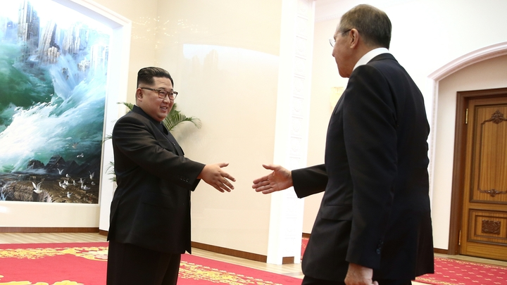 Ким Чен Ын направил Владимиру Путину послание