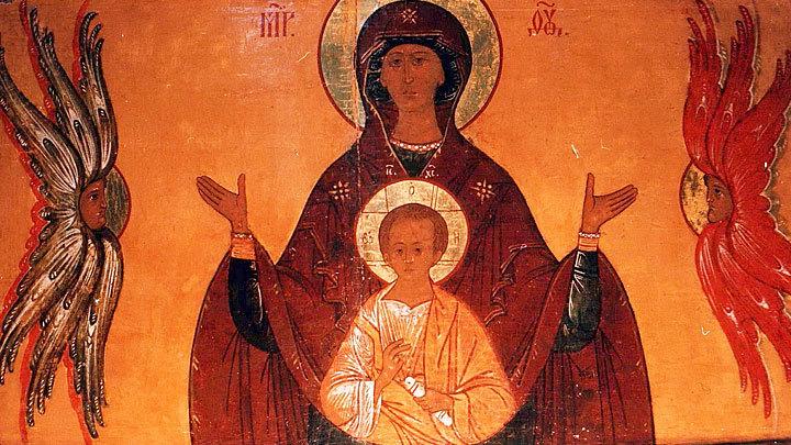 Икона Божией Матери «Знамение». Православный календарь на 10 декабря