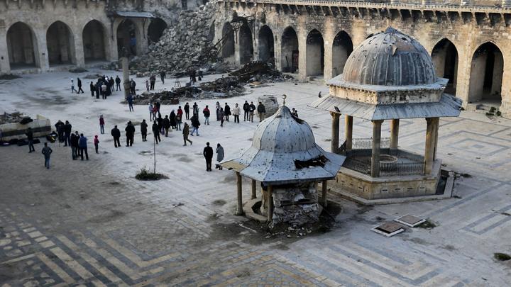 Сирия начинает жить: В Алеппо открылся первый за четыре года туристический сезон