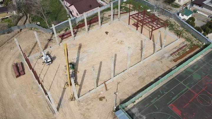 Под Анапой строят спортивный комплекс для школы олимпийского резерва