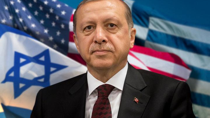 Рекорд Эрдогана: Турция поссорилась с тремя странами за один день