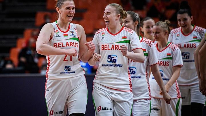 Женская сборная Беларуси вышла в полуфинал чемпионата Европы по баскетболу