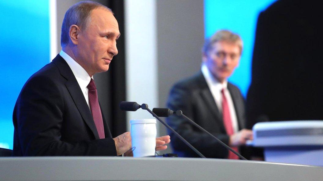 Путин открыл кредитную линию в киоске с мороженым - Кремль