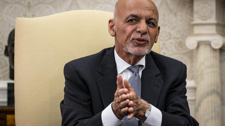 Стало известно местонахождение президента Афганистана Ашрафа Гани после захвата Кабула