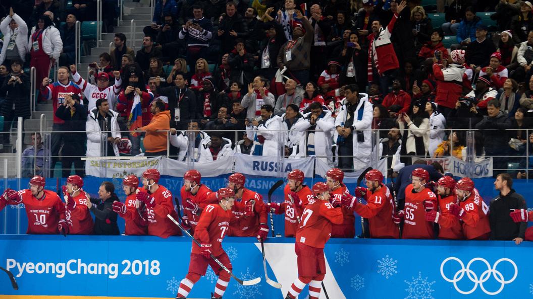 Вгосударстве Украина поведали, как русские хоккеисты «чудом избежали позора»