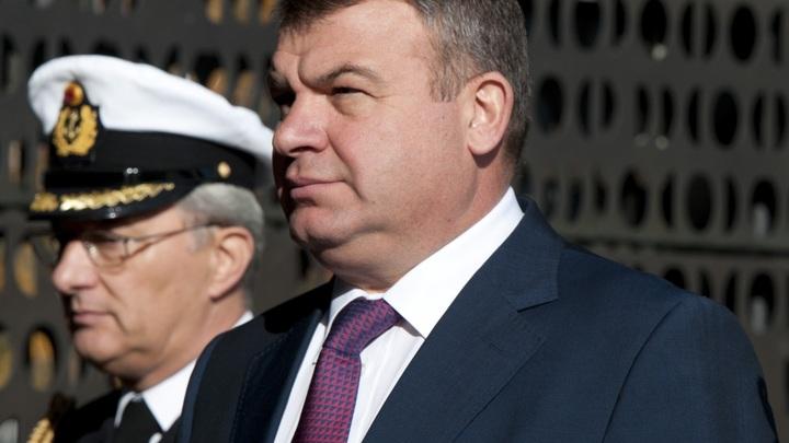 Ну, не чокаясь: Новое назначение Сердюкова в Сети встретили разочарованием