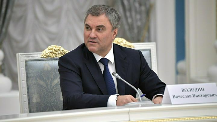 Вячеслав Володин отправится с рабочими визитами в Иран и Азербайджан
