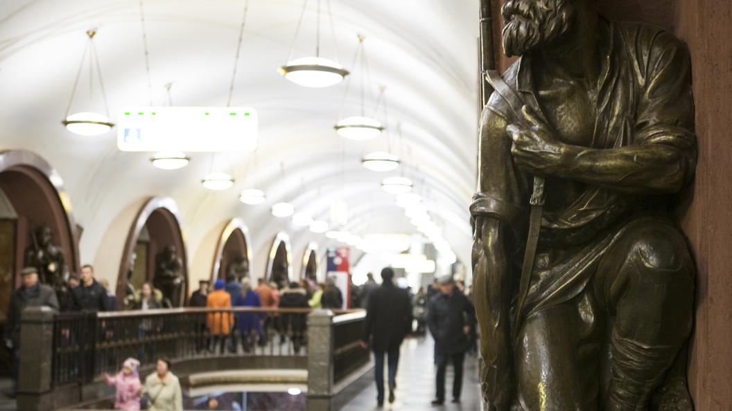 Службы Московского метрополитена переведены наусиленный режим работы из-за снегопада