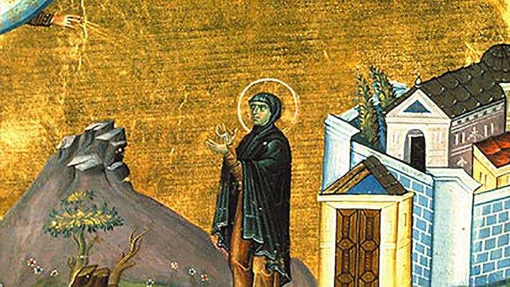 Преподобная Домника Константинопольская. Церковный календарь на 21 января