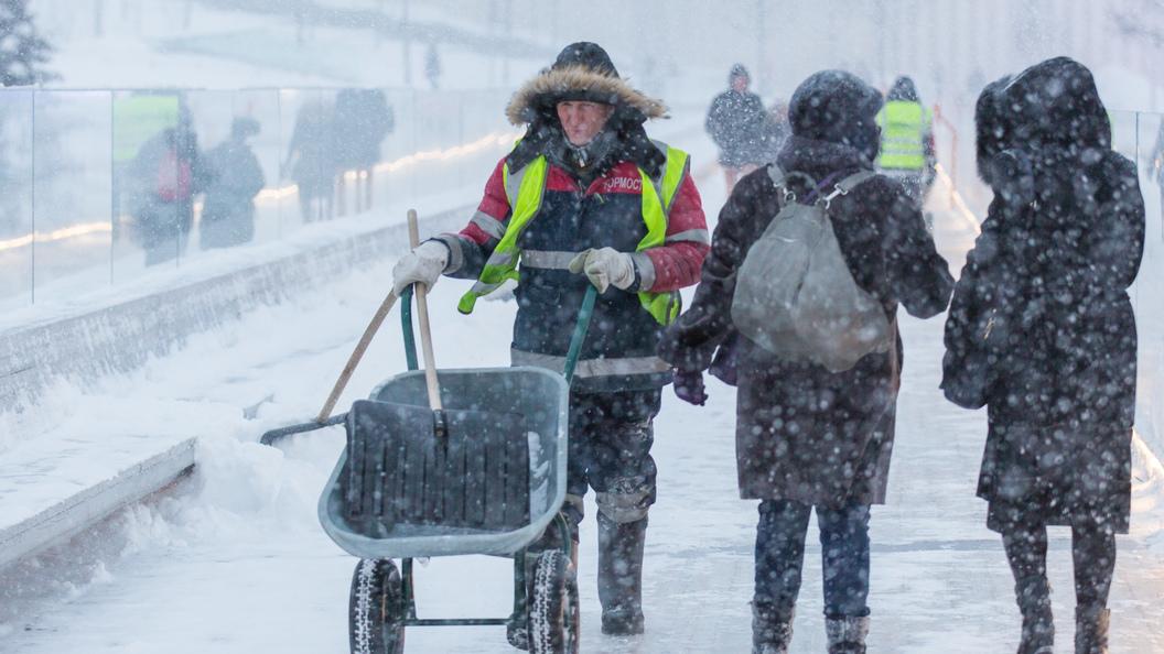 Зима несдаётся. жителей столицы предупредили опохолодании вночь на30марта