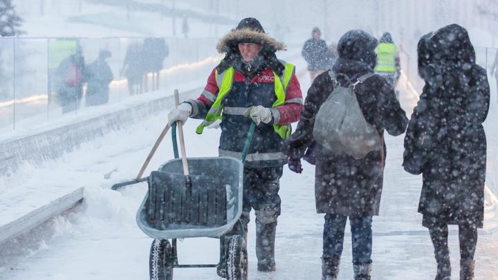 В Москву через час и до самого утра вернется зима