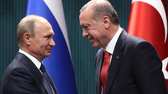 Встреча Путина с Эрдоганом: Сирия, курды и С-400