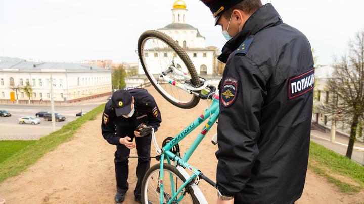 Во Владимирской области в этом году украдено 25 велосипедов
