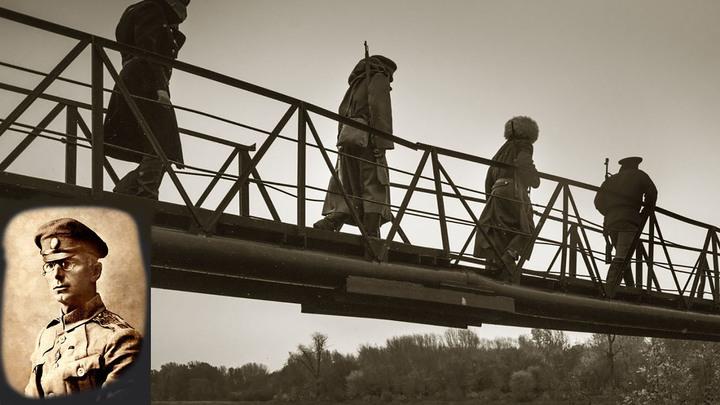 Из Румынии походом шёл Дроздовский славный полк, во спасение народа исполняя тяжкий долг