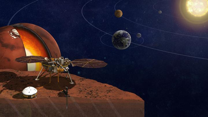 Рокот Красной планеты: В NASA обнародовали недоступную уху человека симфонию Марса