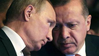 Путин и Эрдоган определят судьбу Ближнего Востока