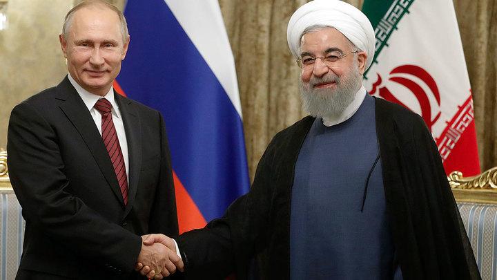 Тегеран - 17. Владимир Путин встретился с лидерами Ирана и Азербайджана