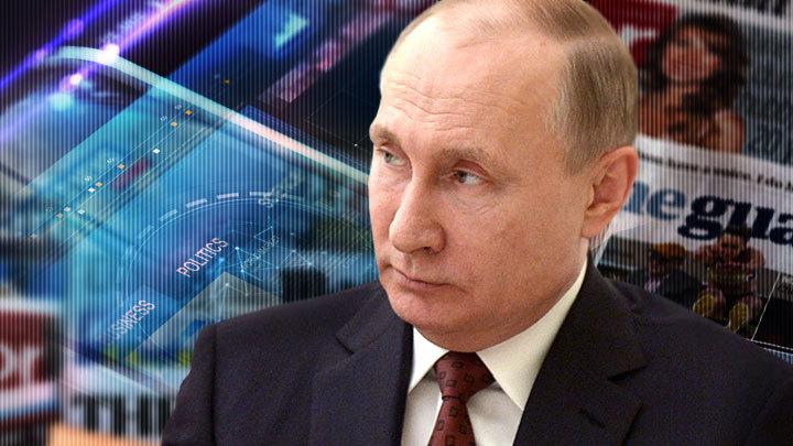 Западные СМИ рассчитывают на падение рейтинга Путина