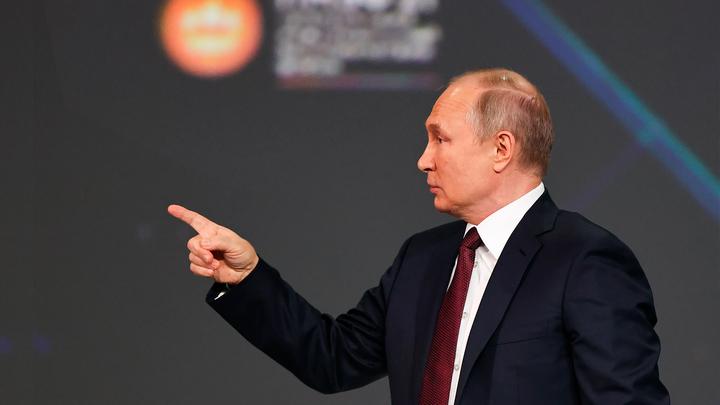 На людях не экономим. Путин сказал, что экономика должна расти вместе с доходами населения