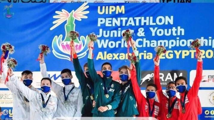 Спортсмен из Подмосковья завоевал два серебра на первенстве мира по современному пятиборью