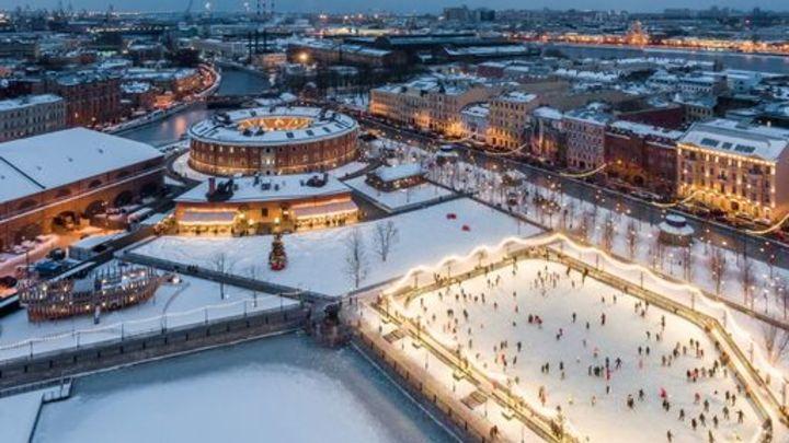 В Санкт-Петербурге в Новой Голландии откроют каток – гостей развлекут лесные чудища