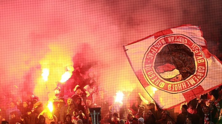 Полиция Бильбао начала стучать на фанатов Спартака в УЕФА