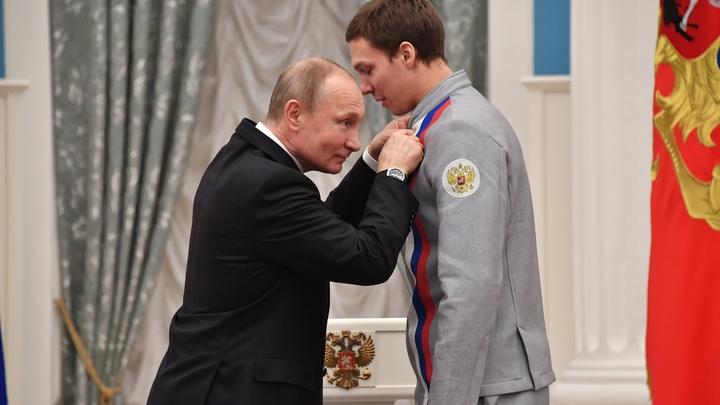 Паралимпийцы получили подпись Путина на медалях, однако этого оказалось мало: Испортим документ