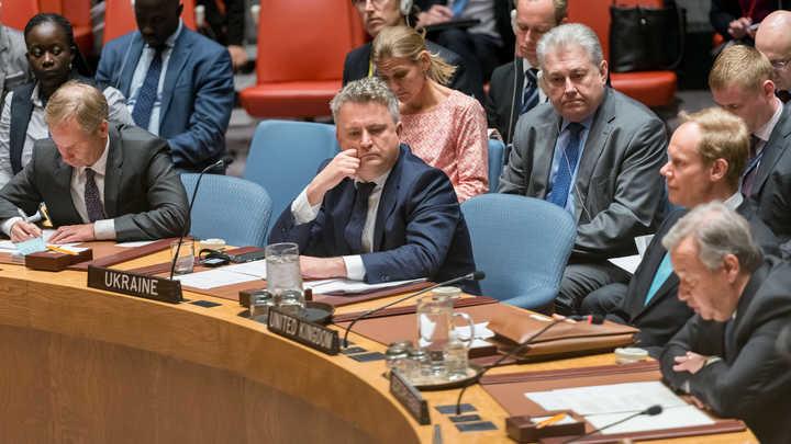 Украина опять бездоказательно обвинила Россию: Под угрозой право вето в Совбезе ООН