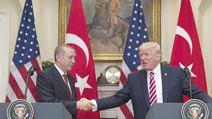 Трамп увидел в Эрдогане своего близкого друга