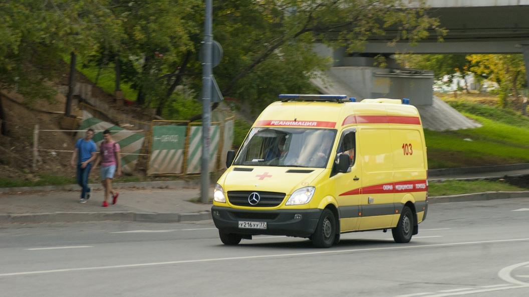 ВИжевске обвалился  подъезд многоэтажного дома