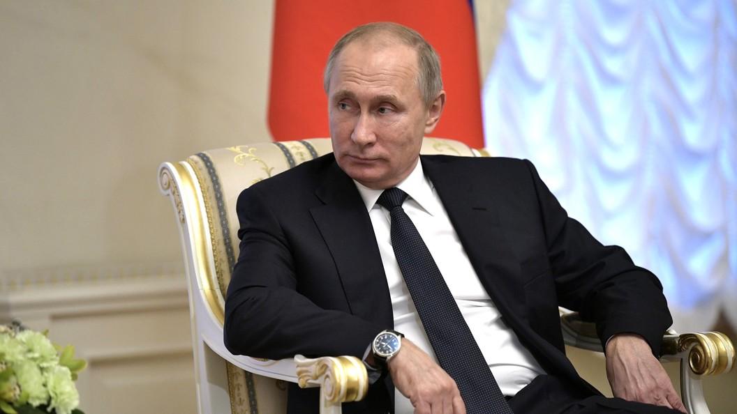 Путин начинает серию совещаний сруководством Минобороны ипредприятий ОПК