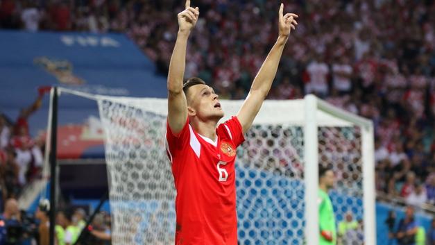 Черышев попал в британский рейтинг лучших игроков ЧМ-2018