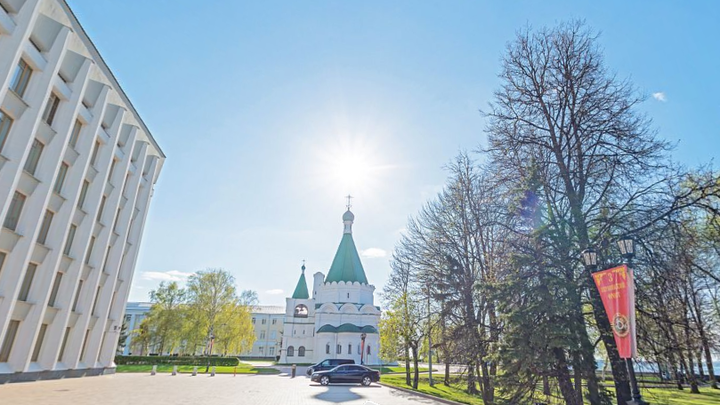 В Нижегородском кремле начался капитальный ремонт центральной площади