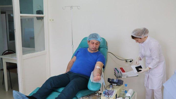 В Сочи стартовал донорский марафон