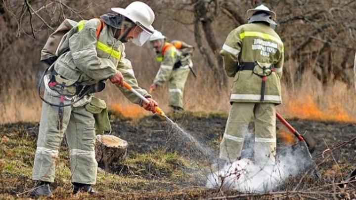 В Краснодарском крае объявлено экстренное предупреждение по чрезвычайной пожароопасности