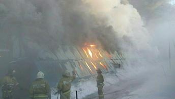 Пожар в офисном здании Химок локализован на площади в 2000 квадратных метров