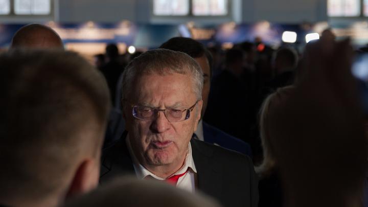Жириновский напал на журналистов CNN и NY