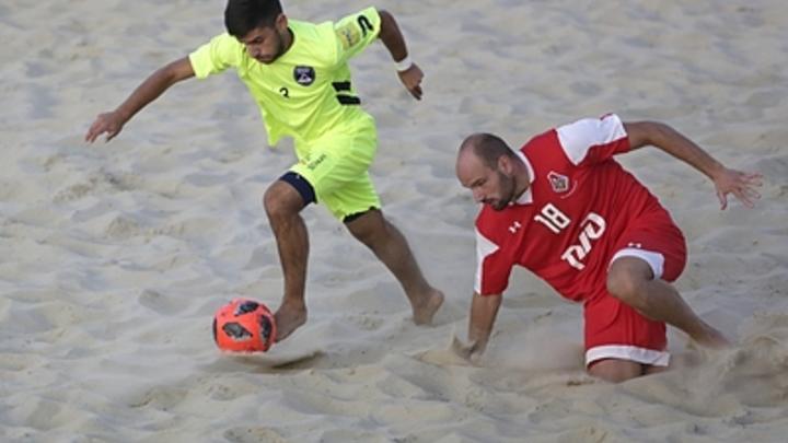В Саратове самарский пляжный футбольный клуб Крылья Советов выиграл впервые в нынешнем чемпионате