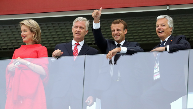 Макрона - поздравил, короля - утешил: Путин поговорил с двумя лидерами после футбола