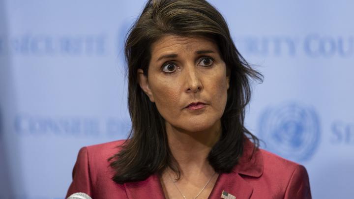 Никки Хейли подала в отставку с поста постпреда США в ООН