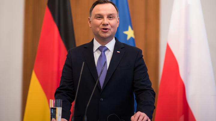 Форт Трамп - да, ракеты - нет: Президент Польши «вообще не думал» о размещении запрещенных ракет США